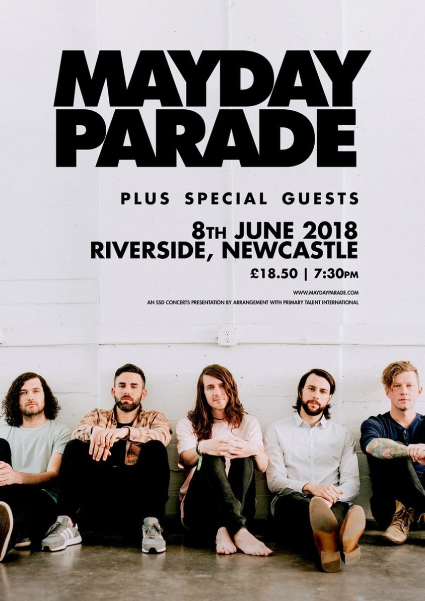 Mayday parade announce one off uk show euphoria of breakdown mayday parades new album sunnyland is set for release on june 15th 2018 m4hsunfo